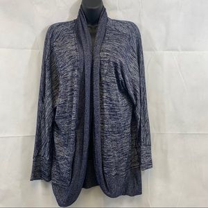 ANA - A New Approach - Navy Open Cardigan, XL. NWT